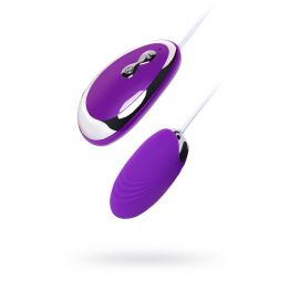 Виброяйцо  , Силикон, Фиолетовый,  6,5 см