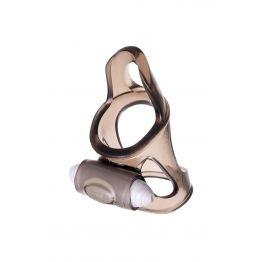 Эрекционное кольцо на пенис TOYFA XLover  , Термопластичный эластомер (TPE), чёрный, 7 см