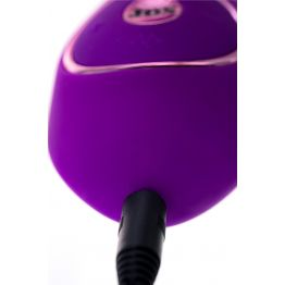 Вибратор с вакуумной стимуляцией клитора JOS JUM, силикон, фиолетовый, 21 см