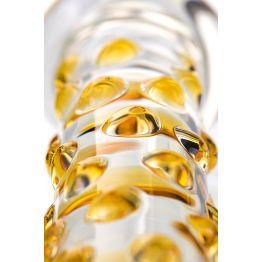 Нереалистичный фаллоимитатор Sexus Glass, Стекло, Прозрачный, 23,5 см