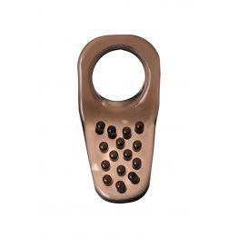 Эрекционное кольцо на пенис TOYFA XLover  , Термопластичный эластомер (TPE), чёрный, 4 см
