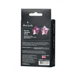 Пэстис Erolanta Lingerie Collection в форме звезд розовые