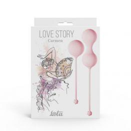 Набор вагинальных шариков Love Story Carmen Tea Rose 3011-01lola