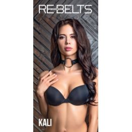 Чокер с кольцом Kali Black 7749-01rebelts