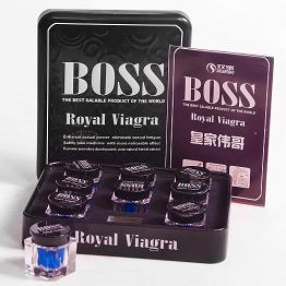 Таблетки для повышения потенции Boss Royal Viagra 1бан., BRV-1509