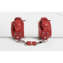 BDSM96 Наручники красные