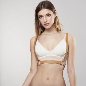Bijoux Indiscrets Упряжь MAZE-X Harness коричневая