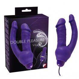 Вибратор анально-вагинальный Double Pleasure Vibe