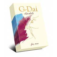 """Шоколад темный """"G-Dai"""" мужской 15г"""