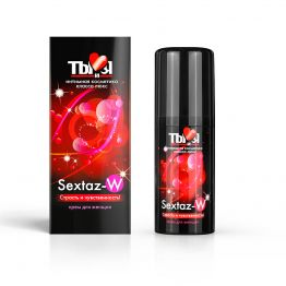 КРЕМ Sextaz-W серии Ты и Я для женщин, флакон - диспенсер 20г арт. LB-70009