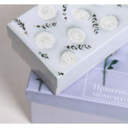 Коробка подарочная Цветы 1