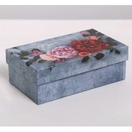 Коробка подарочная Цветы 3
