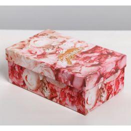 Коробка подарочная Цветы 5