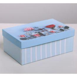 Коробка подарочная Цветы 6