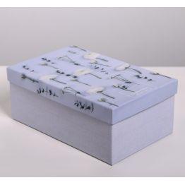 Коробка подарочная Цветы 7