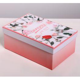 Коробка подарочная Цветы 8