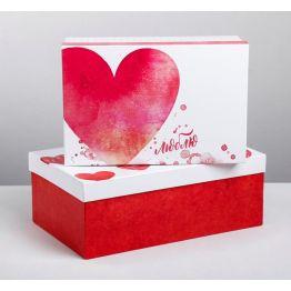 Подарочная коробка Любовь повсюду 9