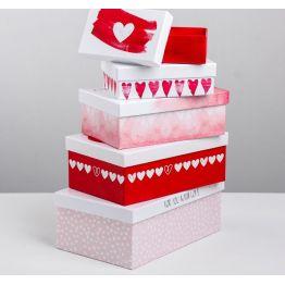 Подарочная коробка Любовь повсюду 10