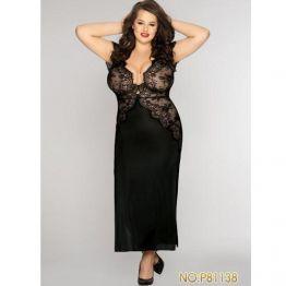 Длинное сексуальное платье размер XXL Plus Size, DJ_P81138