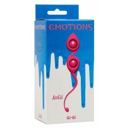 Вагинальные шарики Emotions Gi-Gi Pink 4003-02Lola